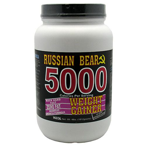 Vitol Russian Bear 5000 Weight Gainer - Chocolate Ice Cream - 4 lb