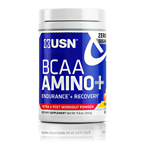 USN BCAA Amino + - Fruit Punch - 30 ea