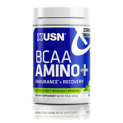 USN BCAA Amino + - Green Apple - 30 ea