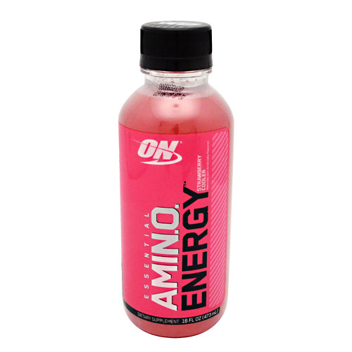 Optimum Nutrition Amino Energy RTD - Strawberry Cooler - 12 ea