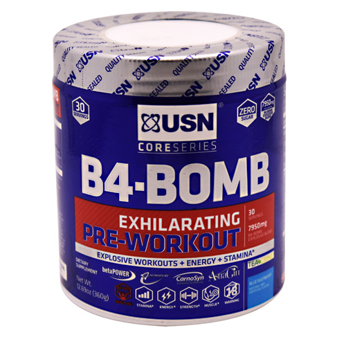 Ultimate Sports Nutrition Core Series B4-Bomb - Blue Raspberry - 30 ea