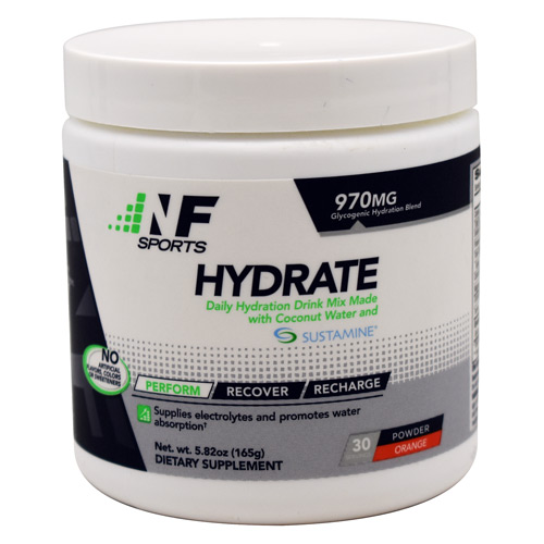 NF Sports Hydrate - Orange - 30 ea
