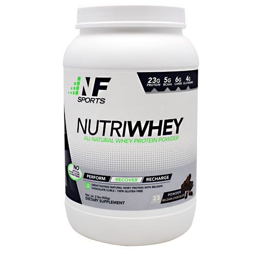 NF Sports NutriWhey - Belgian Chocolate - 23 ea