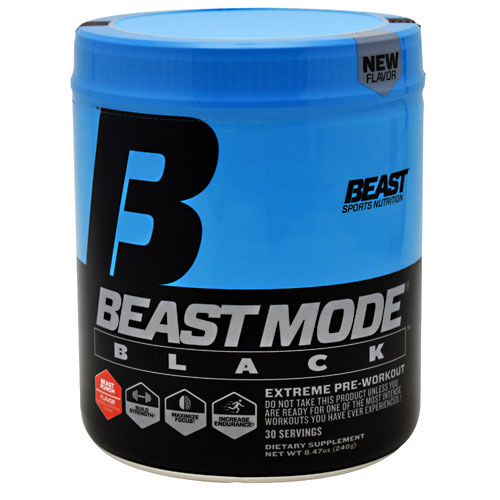 Beast Sports Nutrition Beast Mode Black - Beast Punch - 30 ea