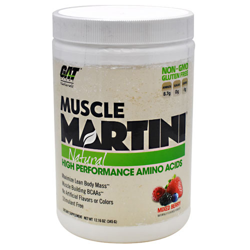 GAT Sport Natural Muscle Martini - Mixed Berry - 30 ea