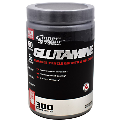 Inner Armour Glutamine - Unflavored - 60 ea