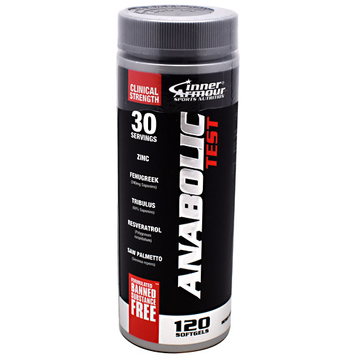 Inner Armour Anabolic Test - 120 Softgels - 120 ea