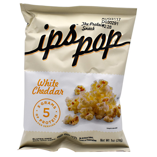 ips All Natural ips Pop - White Cheddar - 24 ea