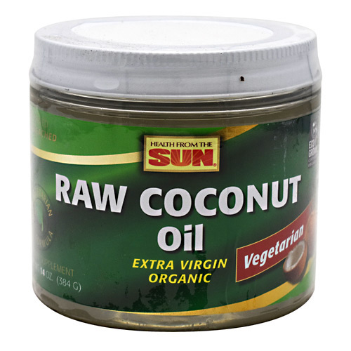 Health From The Sun Raw Coconut Oil - 14 oz