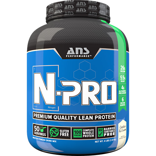 ANS Performance N-Pro - Cookies & Cream - 4 lb