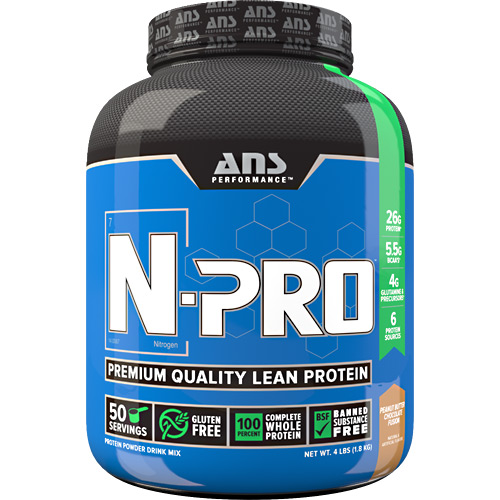 ANS Performance N-Pro - Peanut Butter Chocolate Fusion - 4 lb