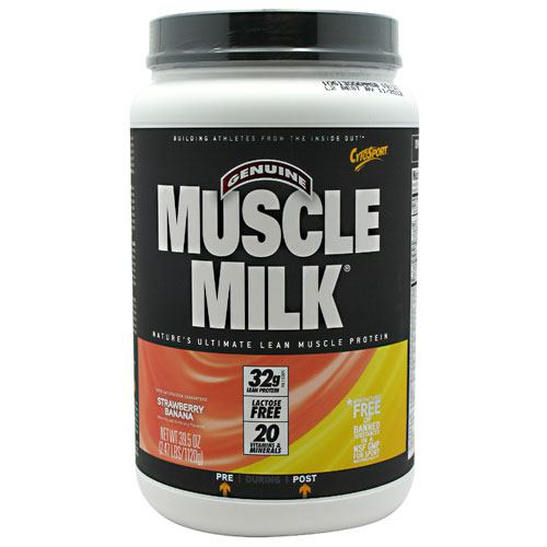 Cytosport Fruit Smoothie Muscle Milk - Strawberry Banana - 2.47 lb