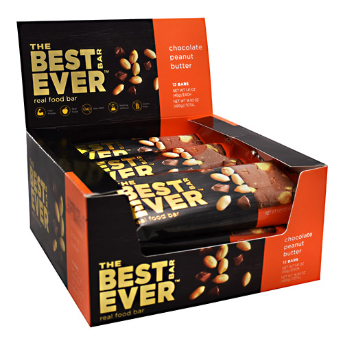 The Best Bar Ever Real Food Bar - Chocolate Peanut Butter - 40 g