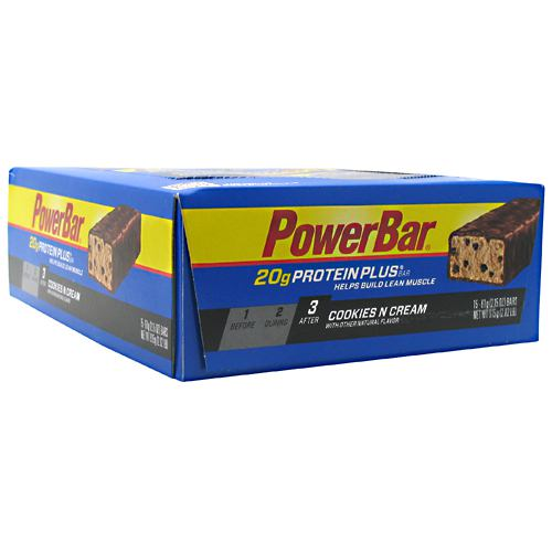 Powerbar Protein Plus - Cookies N Cream - 15 ea