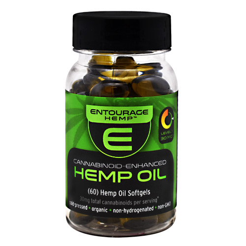 Cannoid Entourage Hemp Hemp Oil - 60 ea