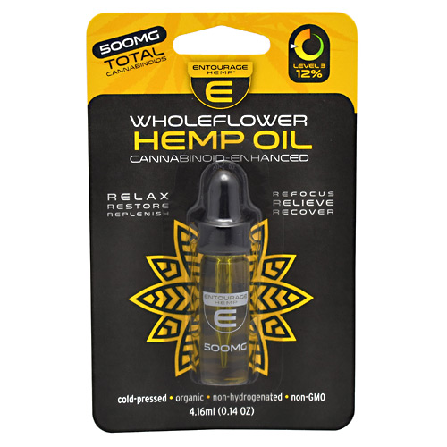 Cannoid Entourage Hemp WholeFlower Hemp Oil - 500 mg