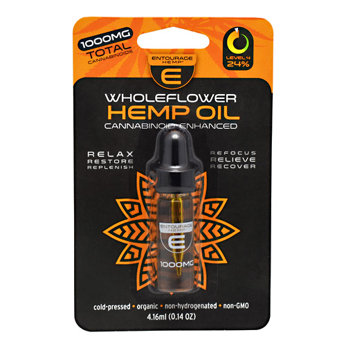 Cannoid Entourage Hemp WholeFlower Hemp Oil - 1000 mg