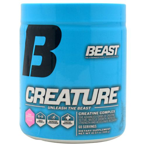 Beast Sports Nutrition Creature - Pink Lemonade Flavor - 60 ea