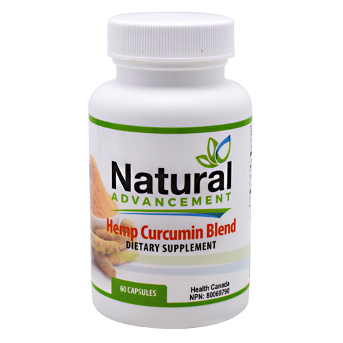 Eastwest Science Natural Advancement Hemp Curcumin Blend - 60 ea