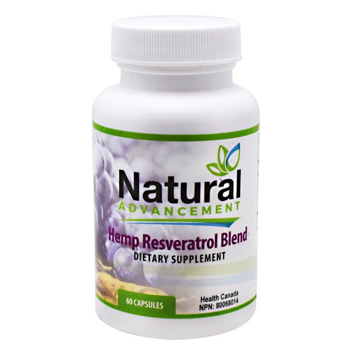 Eastwest Science Natural Advancement Hemp Resveratrol Blend - 60 ea