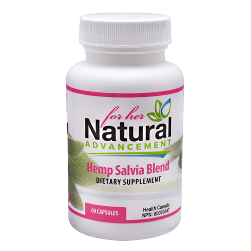 Eastwest Science Natural Advancement For Her Hemp Salvia Blend - 60 ea