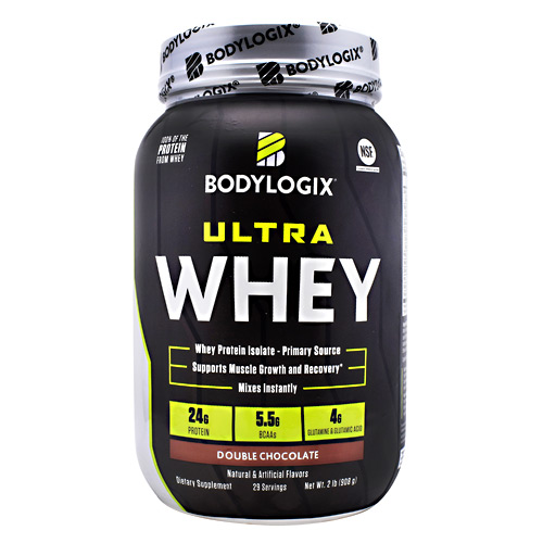 BodyLogix Ultra Whey Protein - Double Chocolate - 2 lbs