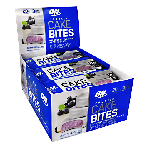 Optimum Nutrition Cake Bites - Blueberry Cheesecake - 12 ea