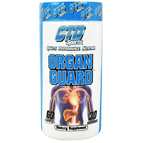 CTD Sports Organ Guard - 60 ea
