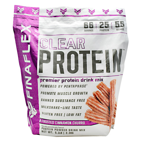 Finaflex Clear Protein - Frosted Cinnamon Churro - 5.1 lbs