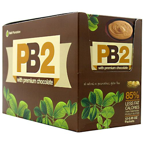 Bell Plantation PB2 Powder - Peanut Butter with Premium Chocolate - 12 ea