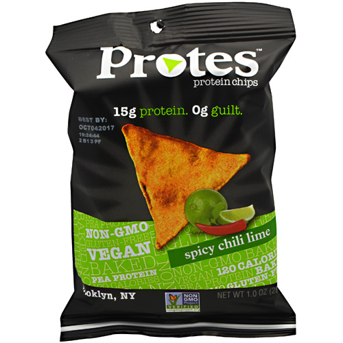 Protes Protein Chips - Spicy Chili Lime - 24 ea