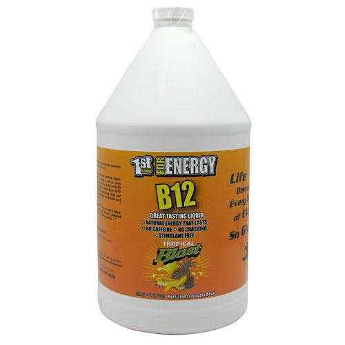 1st Step for Energy B12 - Tropical Blast - 1 gallon