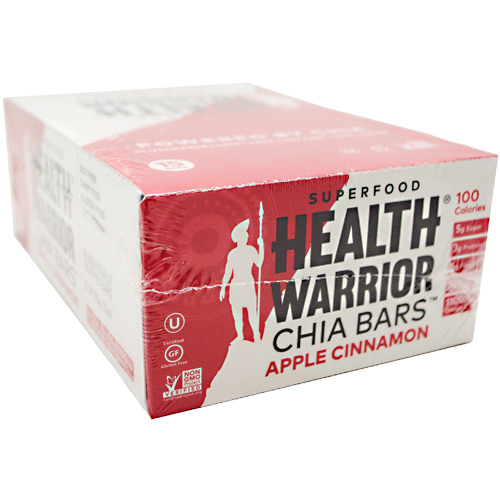 Health Warrior Chia Bar - Apple Cinnamon - 15 ea