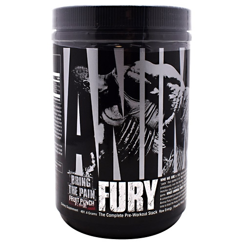 Universal Nutrition Animal Fury - Fruit Punch - 30 ea