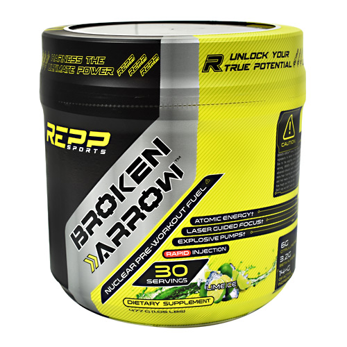 Repp Sports Broken Arrow - Lime Ice - 30 ea