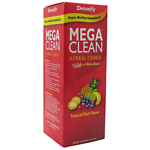 Detoxify LLC Mega Clean - Tropical Fruit - 32 oz