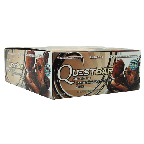 Quest Nutrition Quest Natural Protein Bar - Double Chocolate Chunk - 12 ea