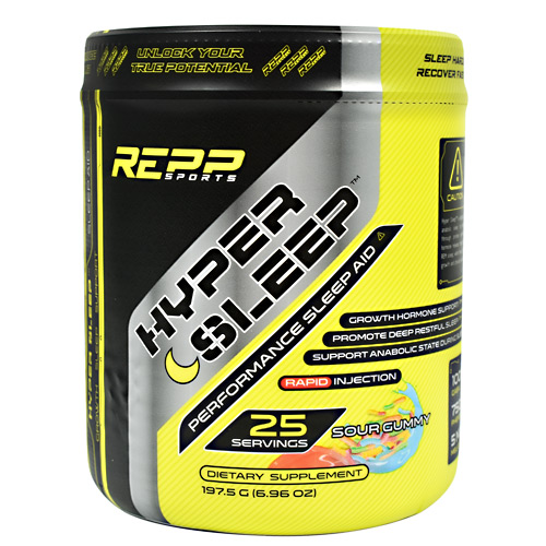 Repp Sports Hyper Sleep - Sour Gummy - 25 ea