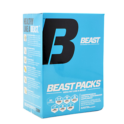 Beast Sports Nutrition Beast Packs - 30 Packets - 30 ea