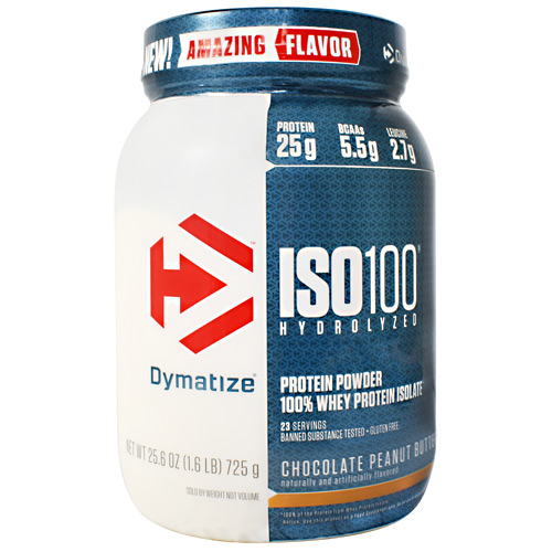 Dymatize ISO100 - Chocolate Peanut Butter - 1.6 lb