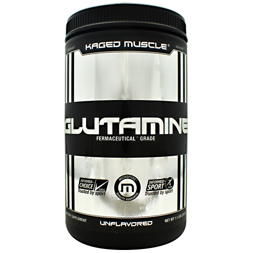 Kaged Muscle Glutamine - Unflavored - 100 ea