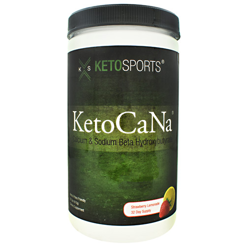 KetoSports KetoCaNa - Strawberry Lemonade - 32 ea