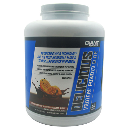 Giant Sports Products Delicious Protein - Delicious Peanut Butter Chocolate Shake - 5 lb