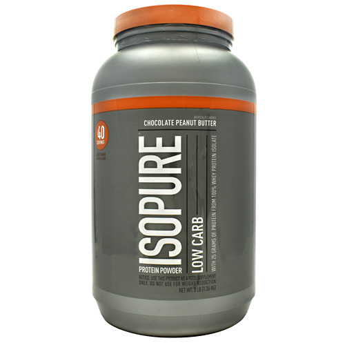Natures Best Low Carb Isopure - Chocolate Peanut Butter - 3 lb