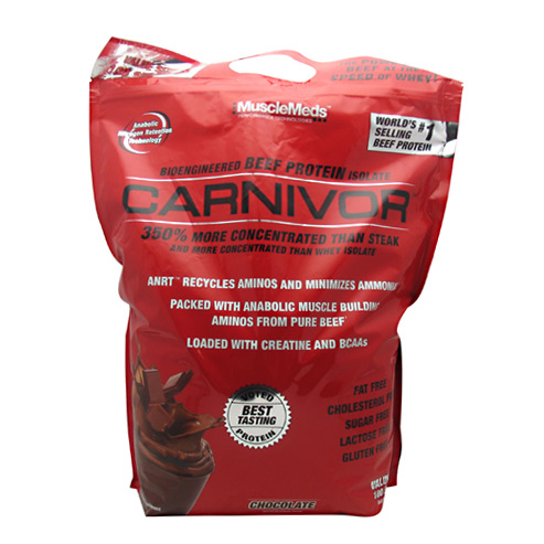 Muscle Meds Carnivor - Chocolate - 8 lb