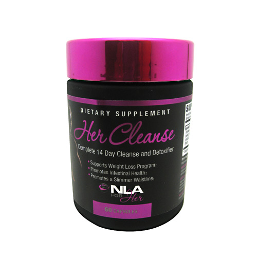 NLA For Her Her Cleanse - 60 ea