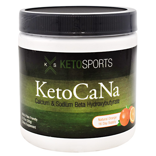 KetoSports KetoCaNa - Natural Orange - 16 ea