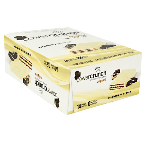 Power Crunch Power Crunch - Cookies and Creme - 5 ea