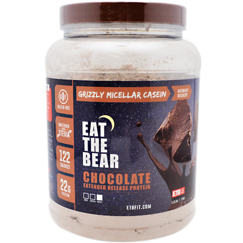 Eat The Bear Grizzly Micellar Casein - Chocolate - 1.6 lb