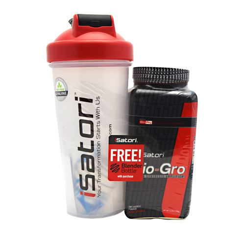 iSatori Bio-Gro + Blender Bottle - Unflavored - 180 g
